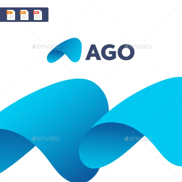 Ago - A abstract letter logo template