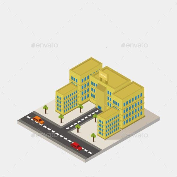 Isometric Hotel