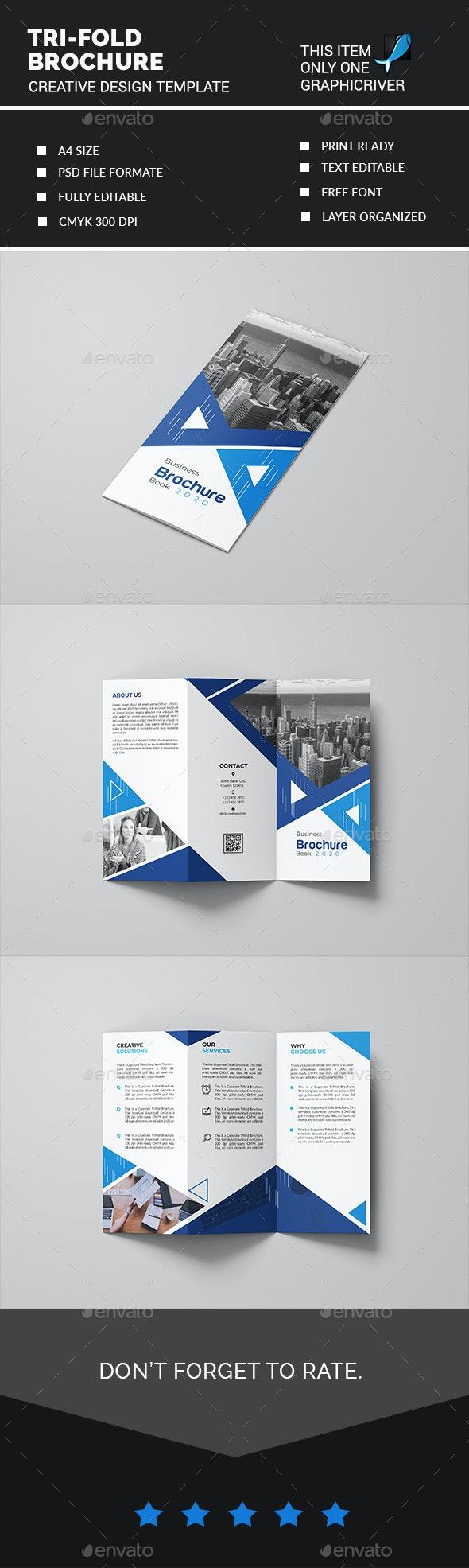 Tri-fold Brochure - Creative Business Cards