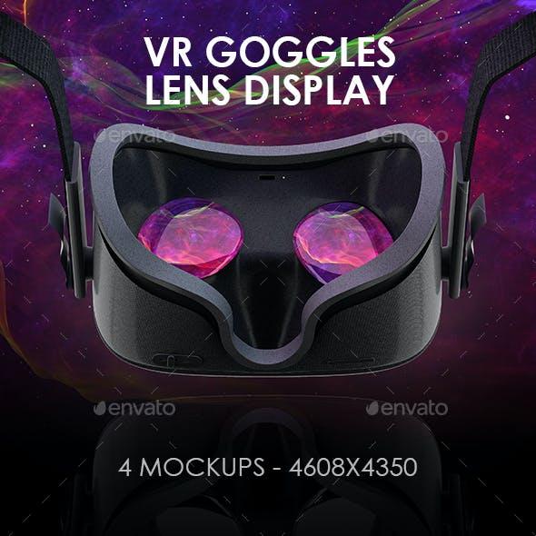 VR Goggles Display Mock-ups