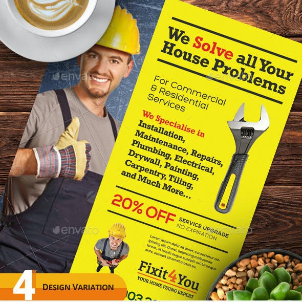 Handyman Services Flyers