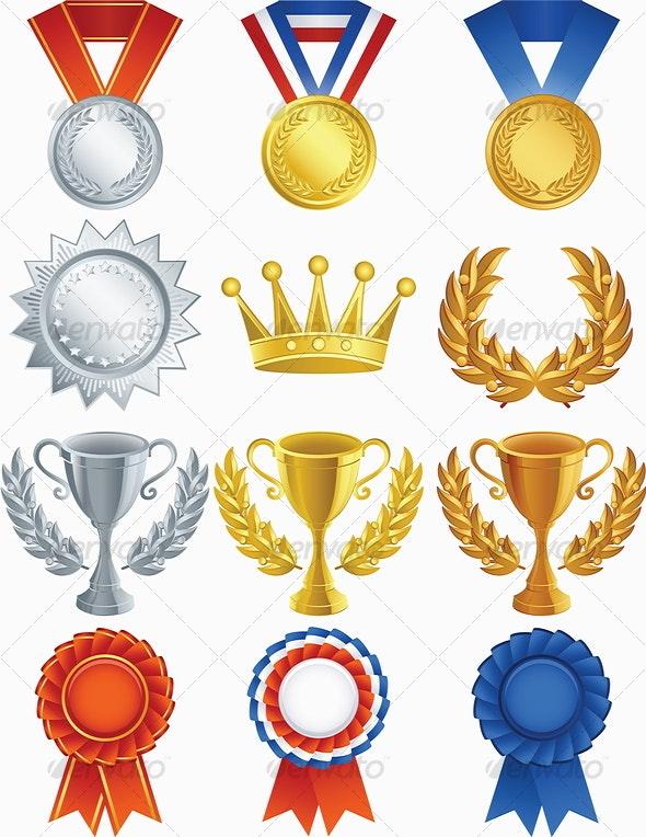 Awards - Decorative Symbols Decorative