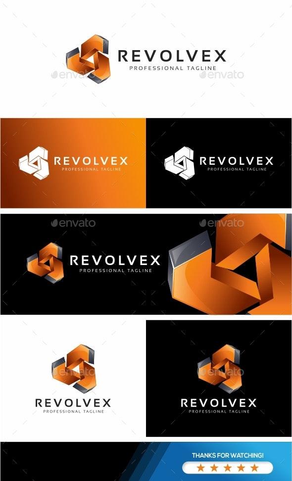 Revolve Logo - Abstract Logo Templates