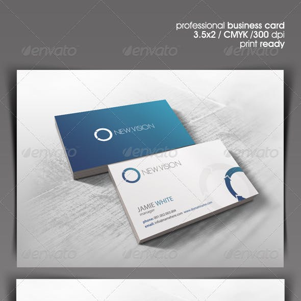 NewVision Business Card