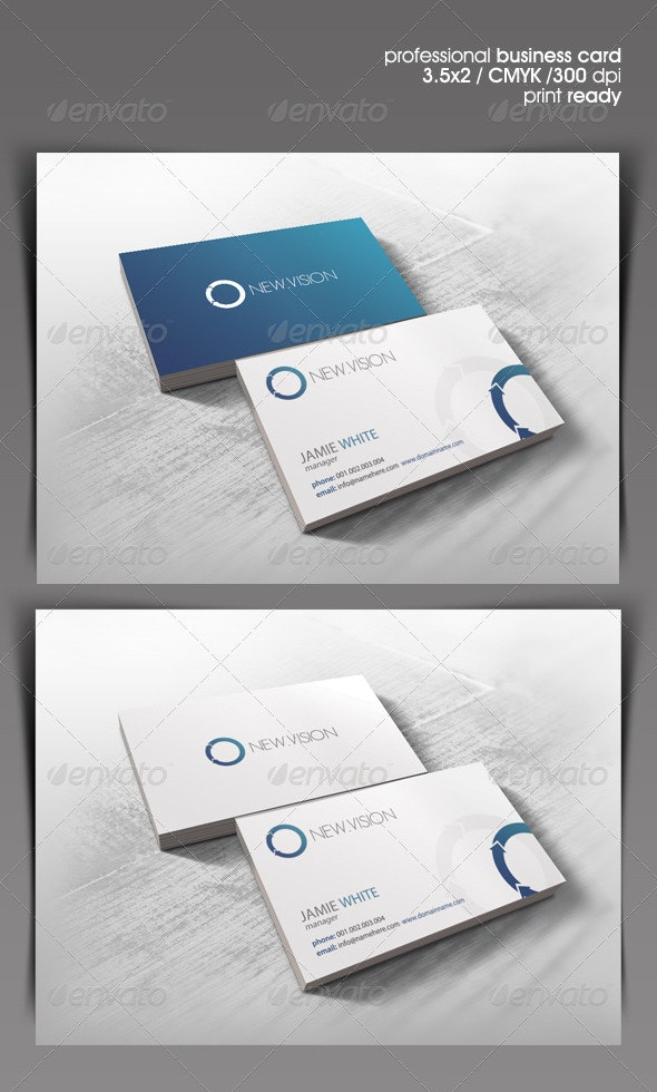 NewVision Business Card - Corporate Business Cards