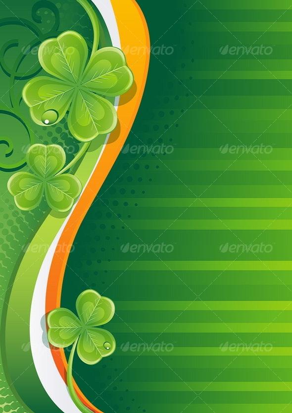shamrock - Backgrounds Decorative