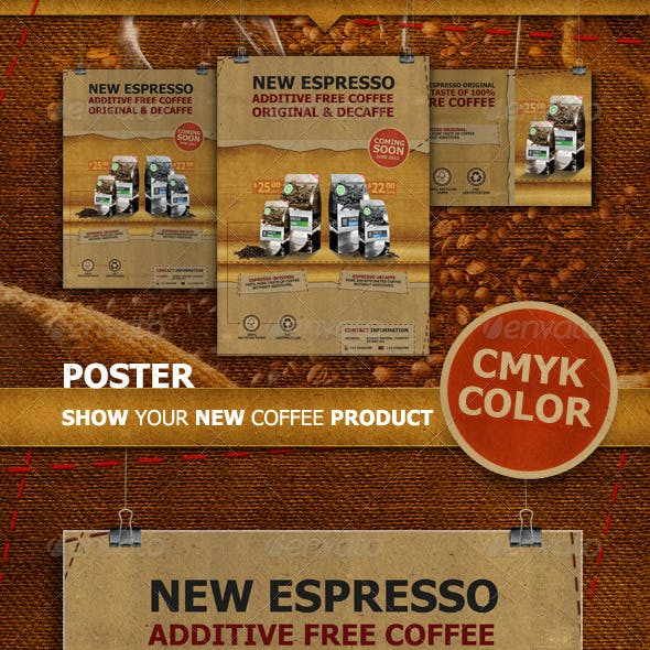 Coffee Poster & Flyer
