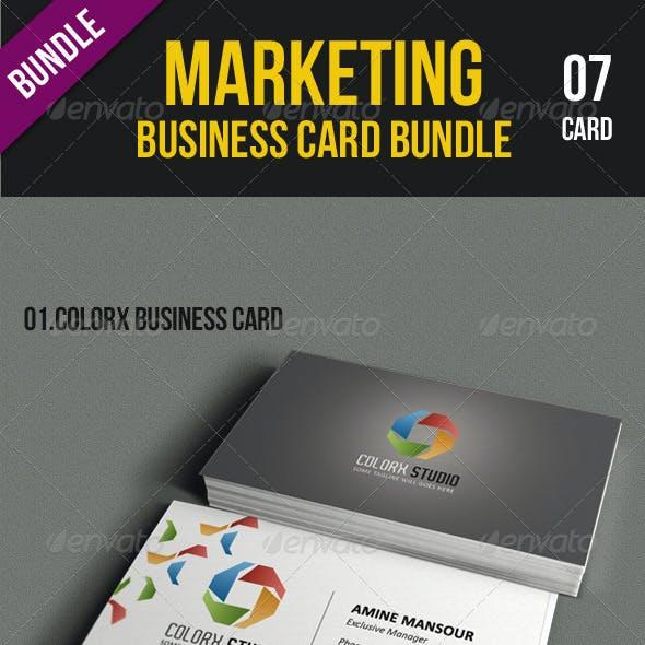 Marketing Business Card Bundle
