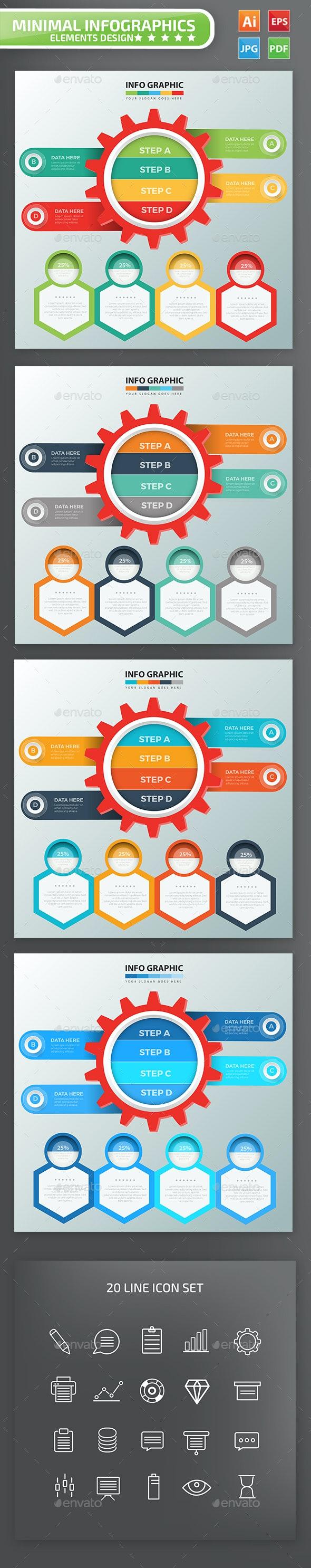 Gear Infographic Design - Infographics