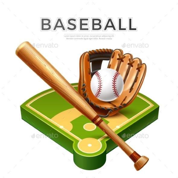 Vector Baseball Championship Flyer