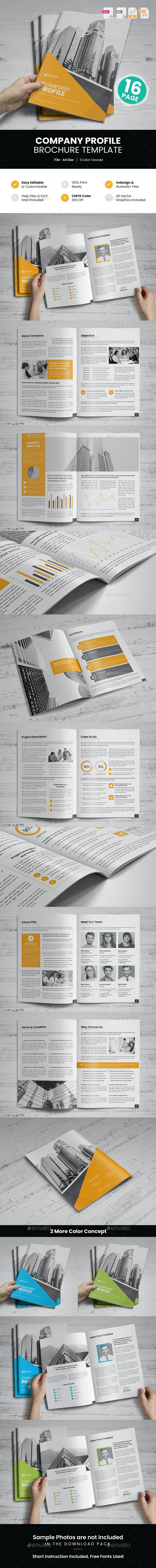 Company Profile Brochure Design v10 - Corporate Brochures