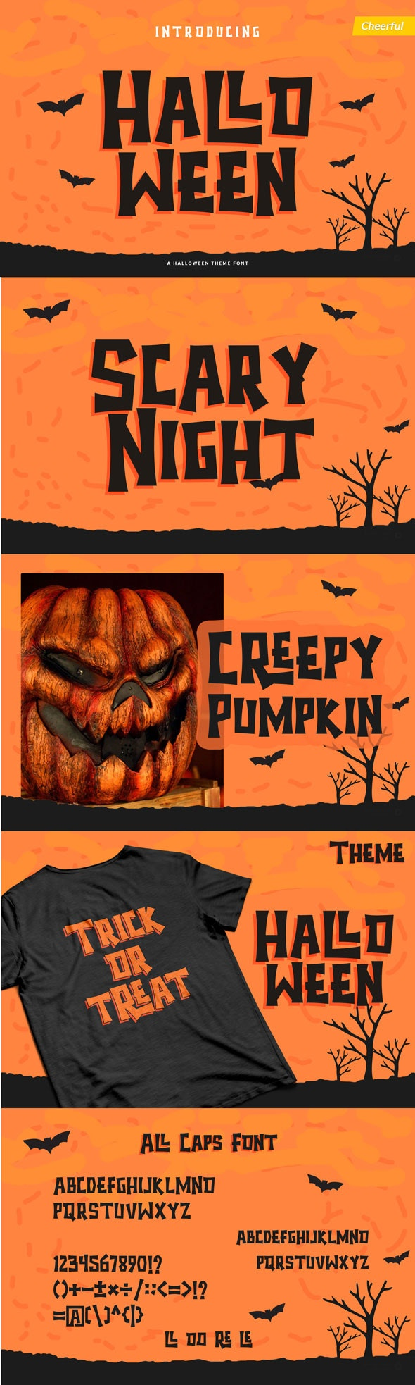 Halloween - Spooky Theme Font - Decorative Fonts