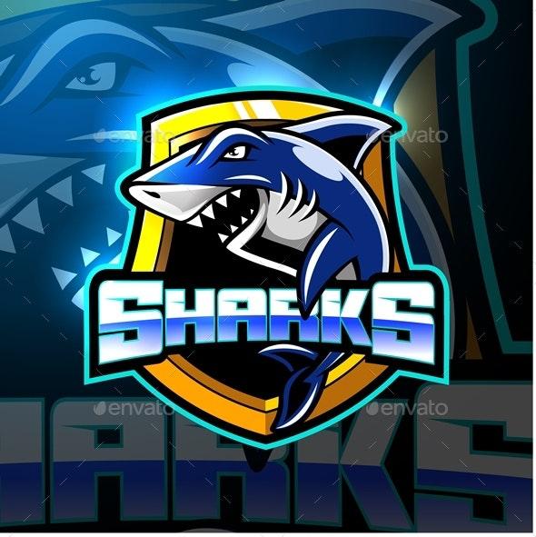 Shark Mascot - Animals Characters