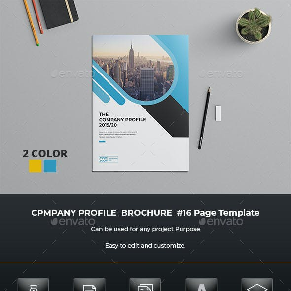 Business Profile Brochure Indesign Template