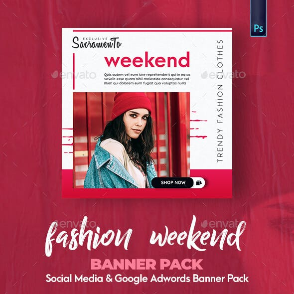 Fashion Banner Pack