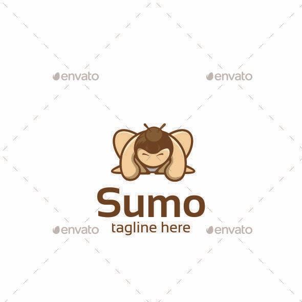 Sumo Cartoon Logo