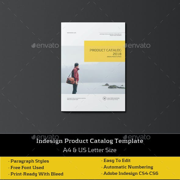 Product Catalogs / Brochure Template