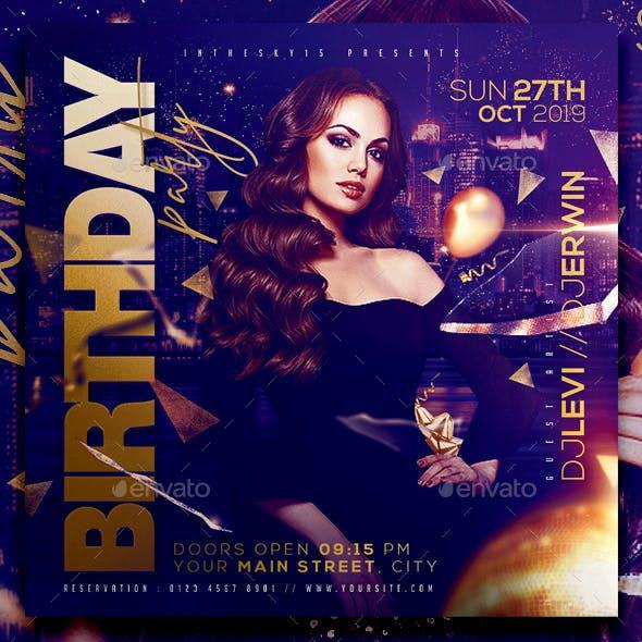Birhday Party Flyer