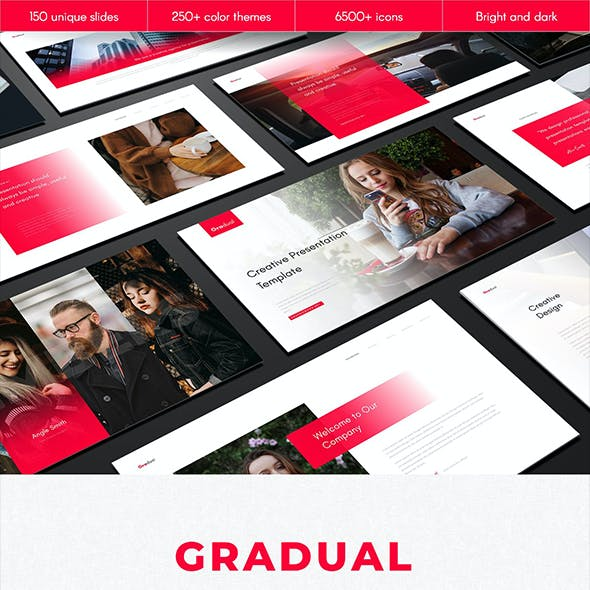 Gradual Multipurpose PowerPoint Template
