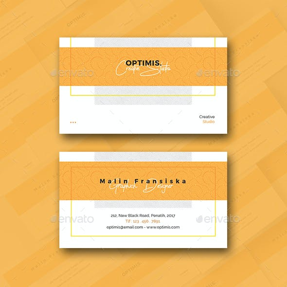 Pattern Creative Business Card