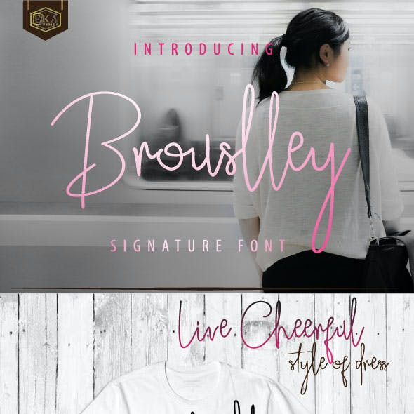 Brouslley Font