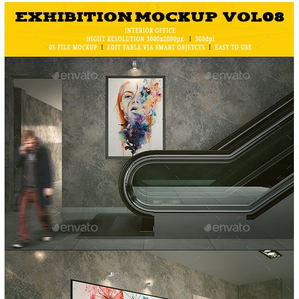 Exhibition Mockup [vol8]
