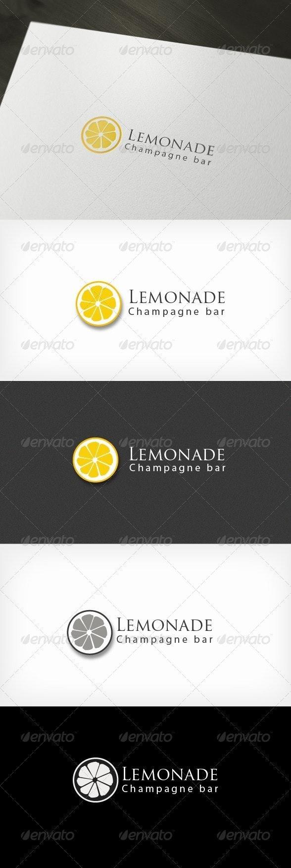 Lemonade Bar - Logo Templates