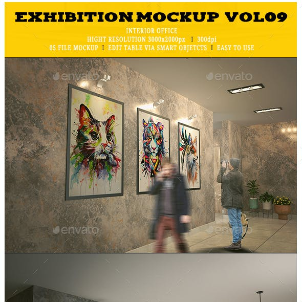 Exhibition Mockup [vol09]