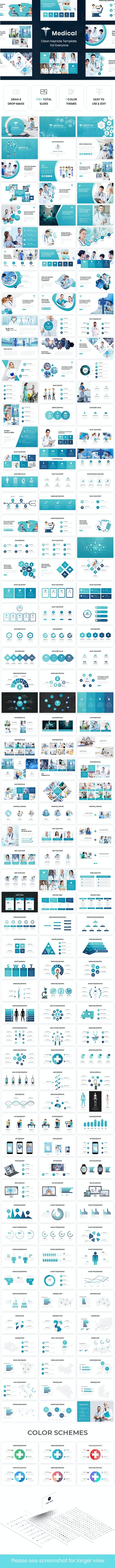 Medical - Healthcare Keynote Template - Creative Keynote Templates