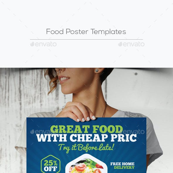 Food Poster Templates