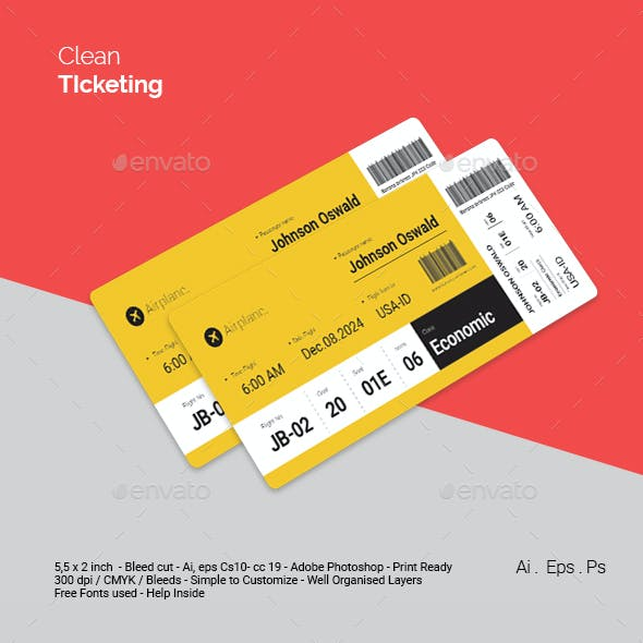 Clean Ticket
