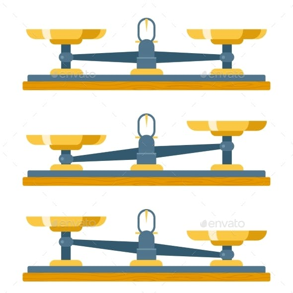 Balance Scales Weigher Equality Equal Concept