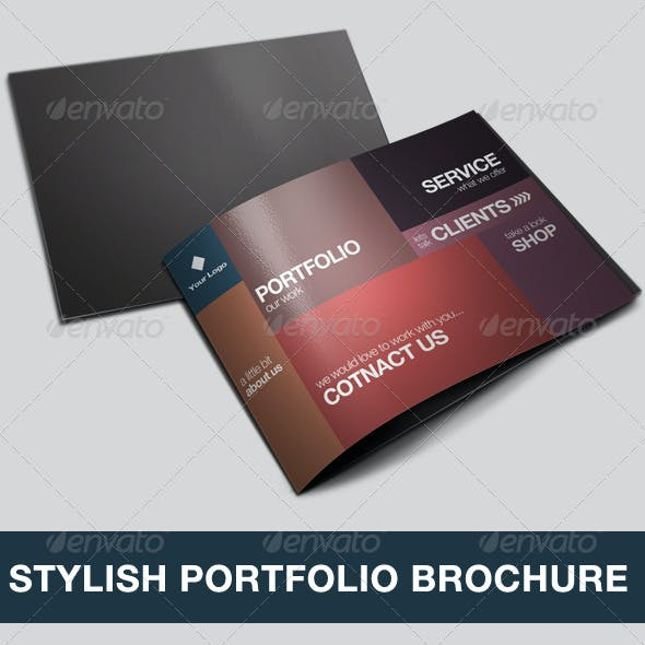 Stylish Portfolio Brochure / Catalogue