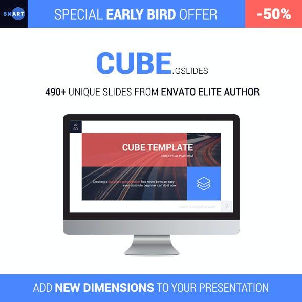 CUBE - Premium Google Slides Presentation Template