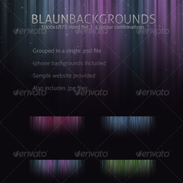 Blaun Web & Iphone backgrounds