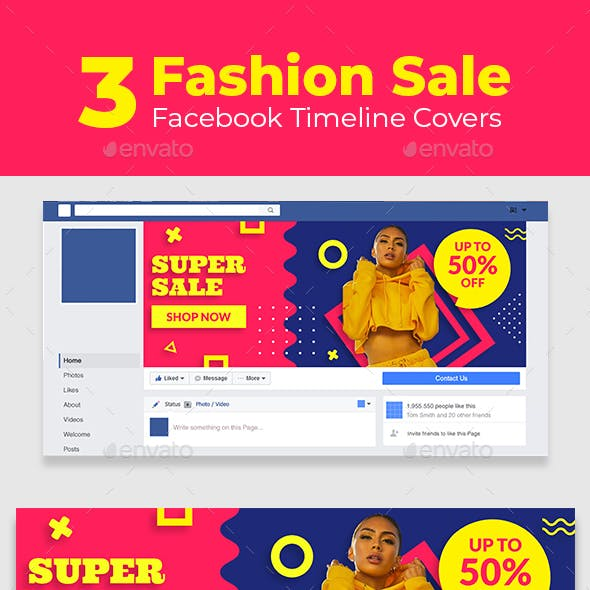 Fashion Sale Facebook Timeline Covers