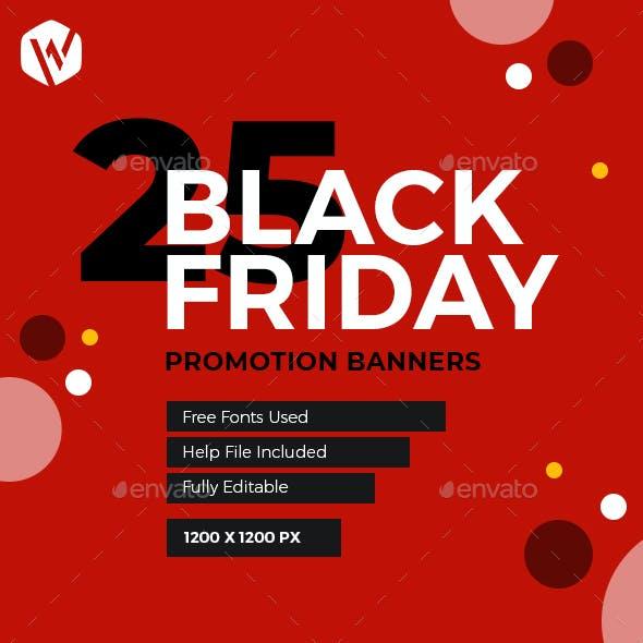 25 Black Friday Banner