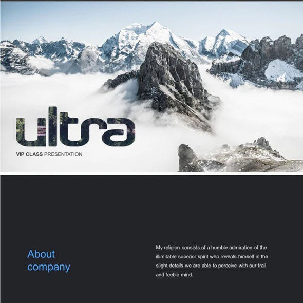 Ultra Creative Powerpoint Template