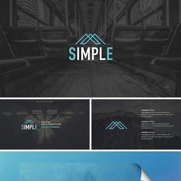 Simple Premium Google Slides Template