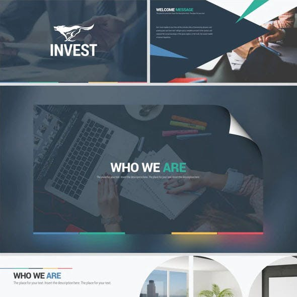 Invest Powerpoint Template System