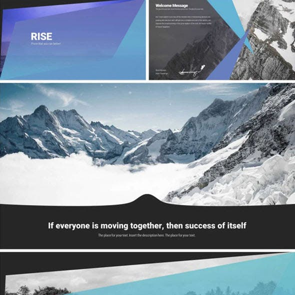 Rise - Business Keynote Template System