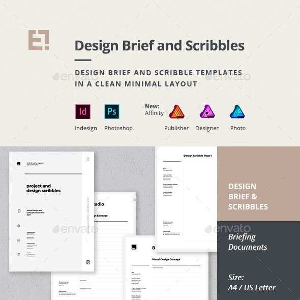 Briefing Indesign Stationery And Design Templates