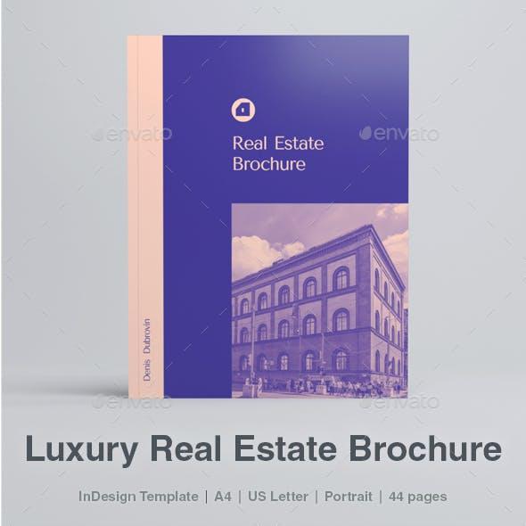 Modern Luxury Real Estate Brochure
