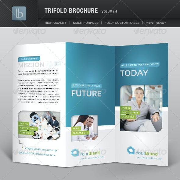 Trifold Brochure | Volume 6