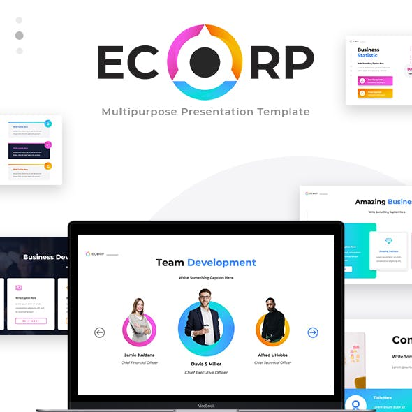 Ecorp - Business Keynote Presentation