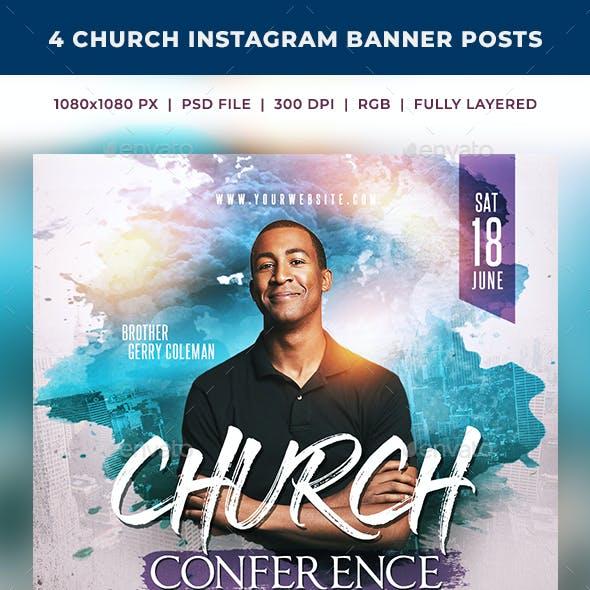 Church Instagram Banner Posts 1