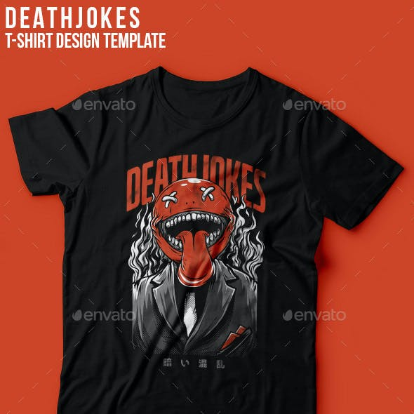 Death Jokes T-Shirt Design