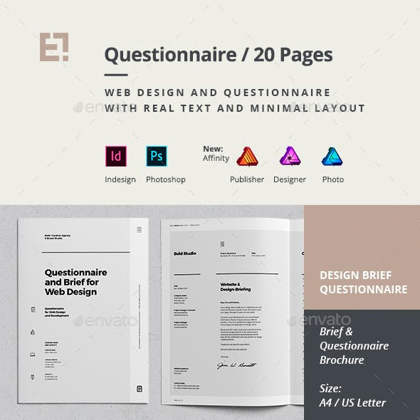 Questionnaire Web Design