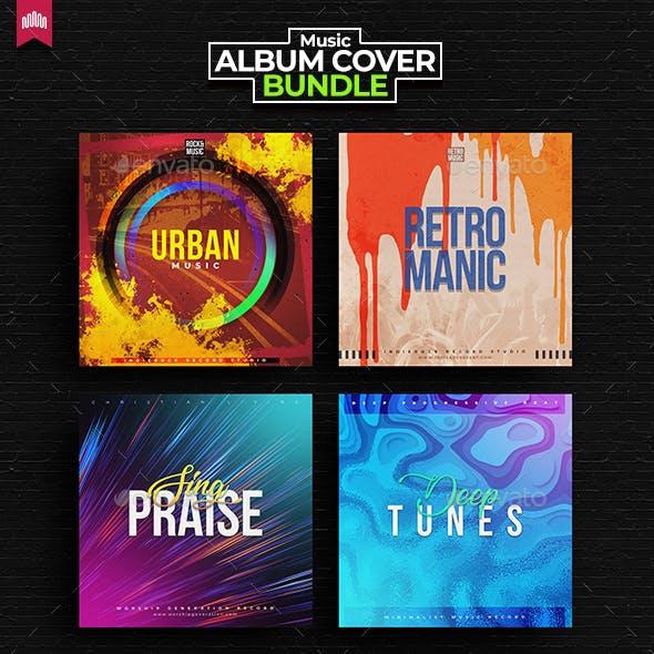 4in1 Music Album Cover - Bundle 9