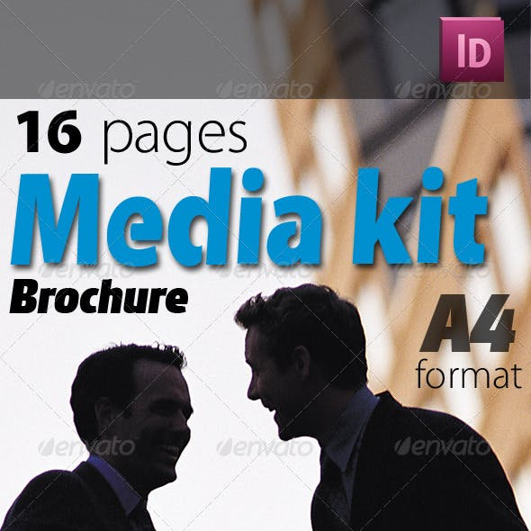 16 Pages Media Kit Brochure